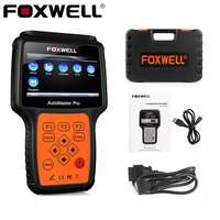 FOXWELL NT624 PRO Auto OBD2 ABS Airbag Diagnostic Tool All System SRS Crash Data Oil Reset OBD 2 Car Scan Automotive Scanner