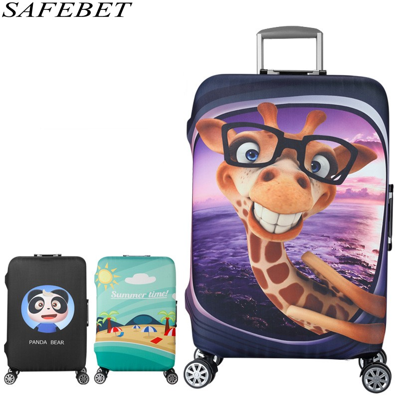 SAFEBET Brand Suitcase Protective Cover Elastic Luggage Protective Cover For 19-32 inchTrolley Suitcase Protect Dust Bag Travel