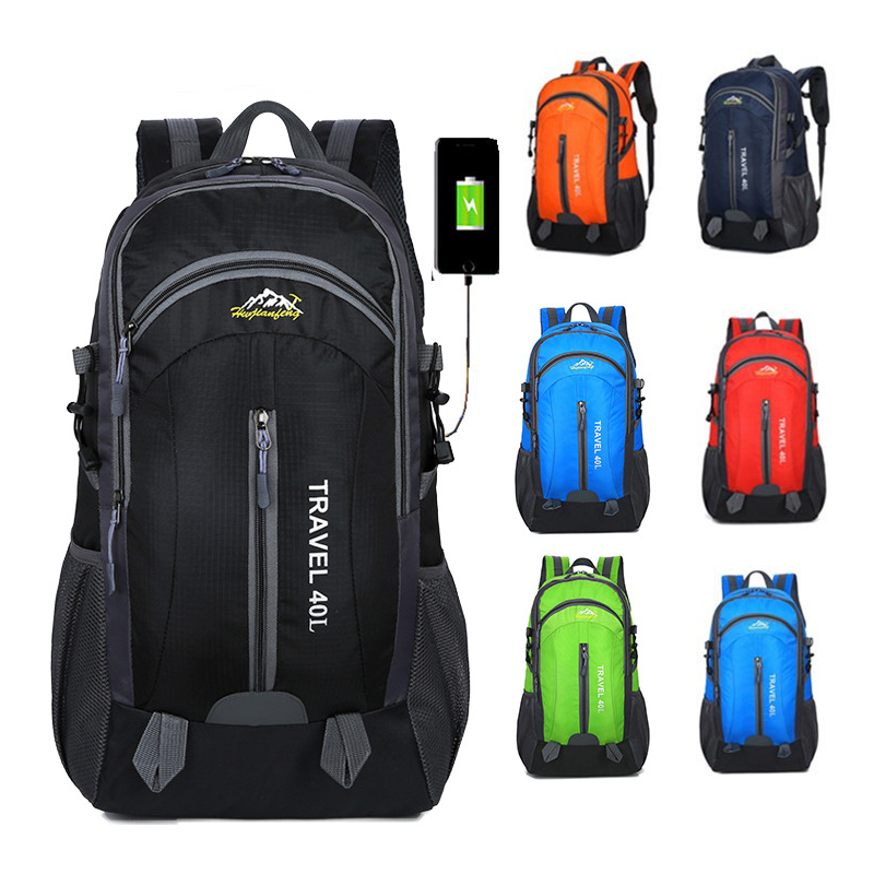 Brand Rucksack Camping Hiking Backpack Sports Bag Outdoor Travel Backpack Trekk Mountain Climb Equipment Waterproof Backpack 40L 2017 40l waterproof nylon travel hiking backpack climbing rucksack camping equipment hiking cycling outdoor sports bag