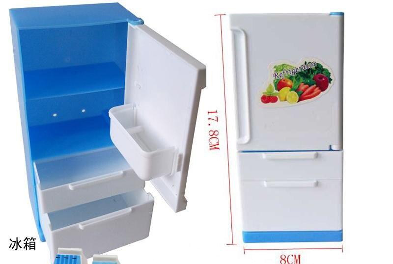 Kühlschrank Puppenhaus : Puppenhausmöbel set edumero