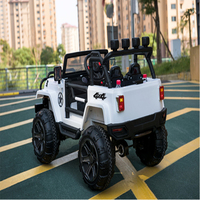 Children's electric car Two seater four wheel drive off road vehicle Can swing Four wheeled baby toy car With remote control