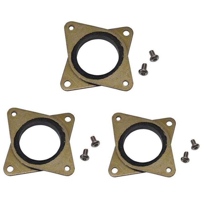 Amortisseurs de vibrations en acier et caoutchouc NEMA 17 pas à pas améliorés avec CNC à vis M3 pour imprimante 3D Creality CR-10, CR-10S, Ender 3