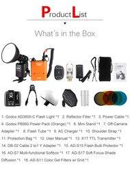 Godox AD-360 MARK II AD360II-C TTL Powerful Speedlite Flash+PB960 Power Pack Orange+X1T-C TTL Transmitter+AD-S7 Softbox kit CD50