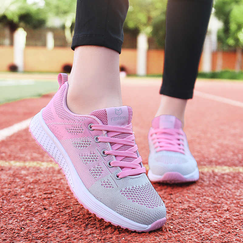 dda01d429b5 Tenis Mujer 2019 New Super Light Flexible Women Tennis Shoes Zapatos Mujer  Breathable Mesh Sneakers Sport Shoes Chaussures Femme
