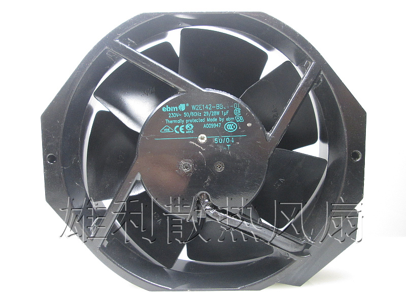 Free Delivery.17238 original W2E142-BB01-01 220V 29 / 28W all-metal cooling fan