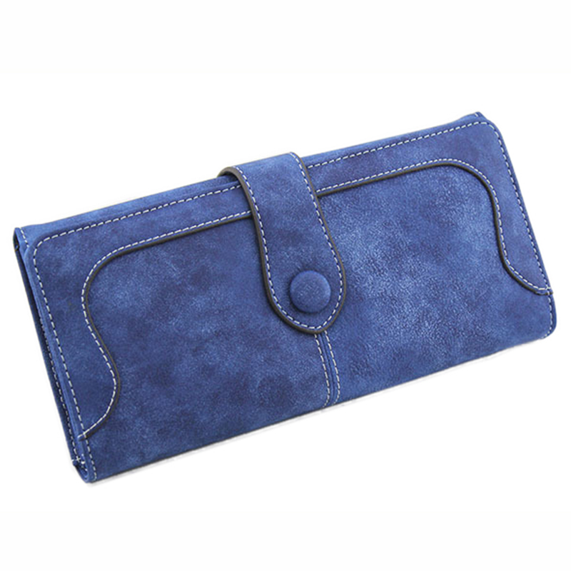 Wallet Women 2017 New Fashion Female Wallet Women Long Leather Women Wallets Black Purse Women Luxury Brand Money Clip Clutch
