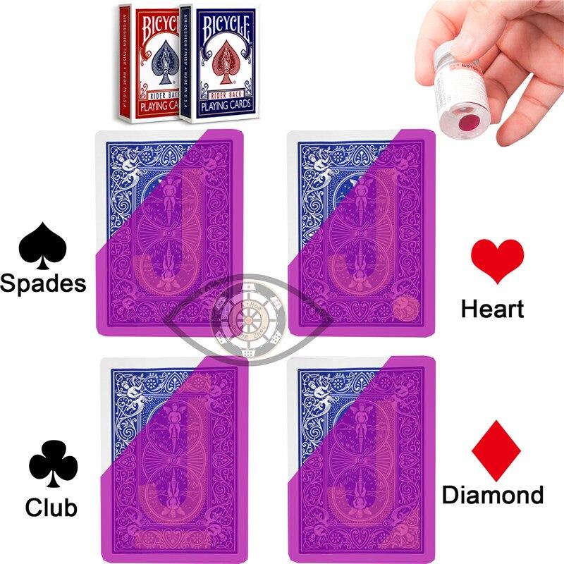 Jogo de Cartas de Poker Água 1 Deck Dourada de