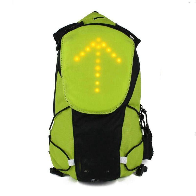 LED Turn Signal Light Reflective Vest Backpack/Waist Pack/Business/Travel/Laptop/School Bag Sport Outdoor Waterproof For Safet