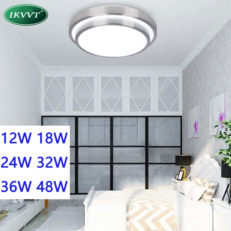 New 12W 18W 24W 36W LED Ceiling light lamp Diameter panel Aluminum frame edge indoor lighting Bedroom living kitchen LED lights