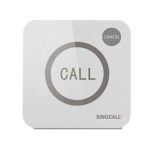 Image 1 - Singcallワイヤレス通話システム、コールベル、ビッグ触れることができる2ボタン防水機能、コールとキャンセルキー、APE520C