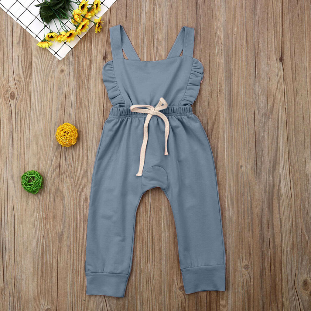 HTB11EeLQpYqK1RjSZLeq6zXppXat Newborn Baby Girl Boy Backless Striped Ruffle Romper Overalls Jumpsuit Clothes Onesies kid clothing toddler clothes baby costume