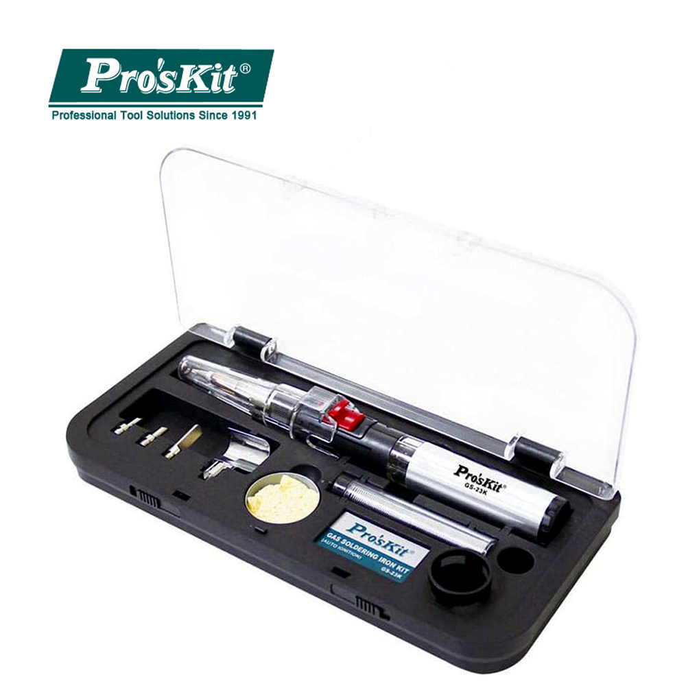 Proskit GS-23K Cordless Welding Pen BurnerAutomatic Ignition Multi-function Gas Soldering Iron Group