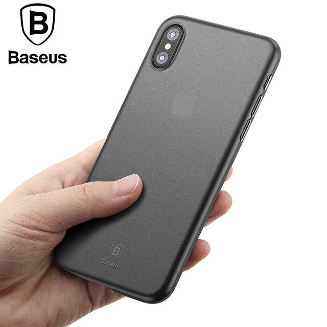 coque iphone x baseus luxe