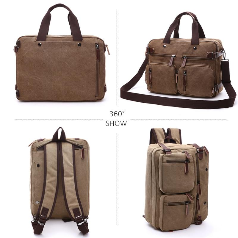 Briefcase Leather Bag Laptop