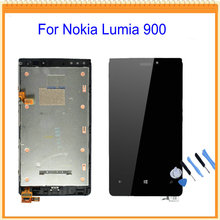 for Nokia Lumia 920 LCD Screen Display with Touch Screen Digitizer Assembly + Frame + Tools Free Shipping