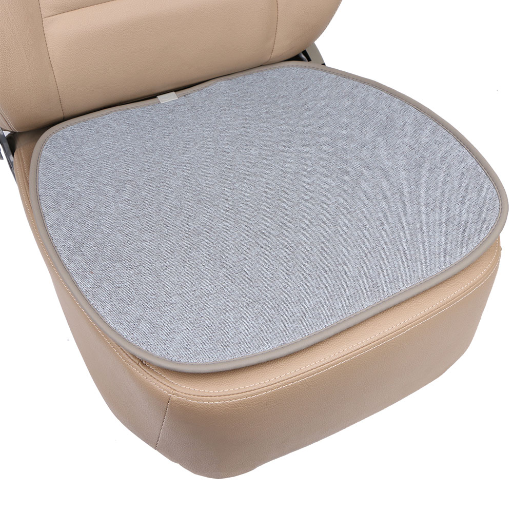 1 piece O SHI CAR linen seat covers mat breathable/ automobile Interior Seat cushion pad Suit for car SUV truck