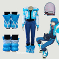 Athemis Dramatical Murder Seragaki Aoba Outfit 7 pieces Anime Cosplay Costume Custom made Any Size High Quality