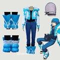 Dramatical murder seragaki aoba athemis outfit 7 peças anime cosplay custom made qualquer tamanho de alta qualidade