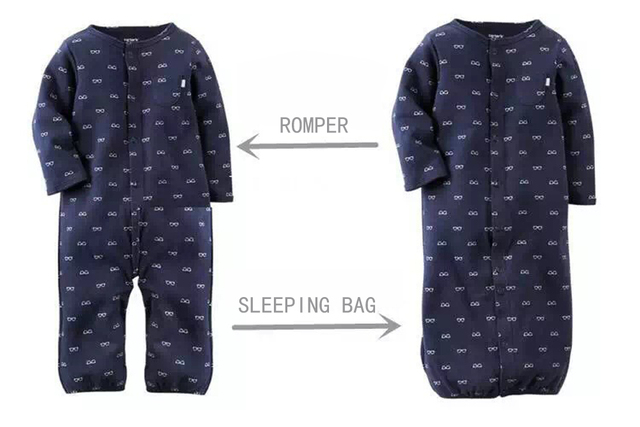 a11dff9b6 Fashion Baby Clothes Cartoon Baby Boy Girl Rompers Cotton Long ...