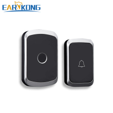 Intelligent Wireless Doorbell Home Welcome Doorbell Waterproof 300m Remote smart Door Bell Chime EU UK US Plug Optional