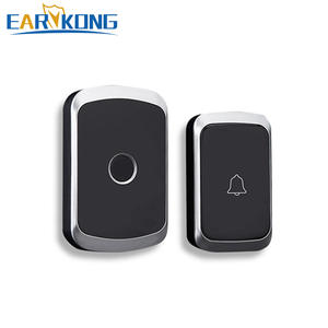 Doorbell Waterproof Chime Welcome Remote Smart-Door Intelligent Home EU 300m UK Wireless