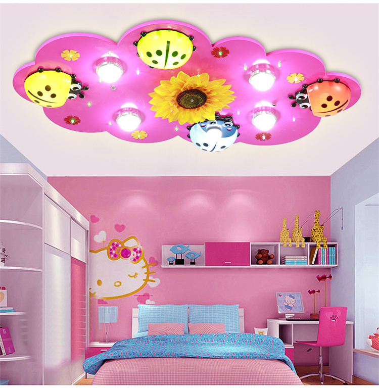 buy children 39 s room lights boys and girls led ceiling light creative cartoon. Black Bedroom Furniture Sets. Home Design Ideas
