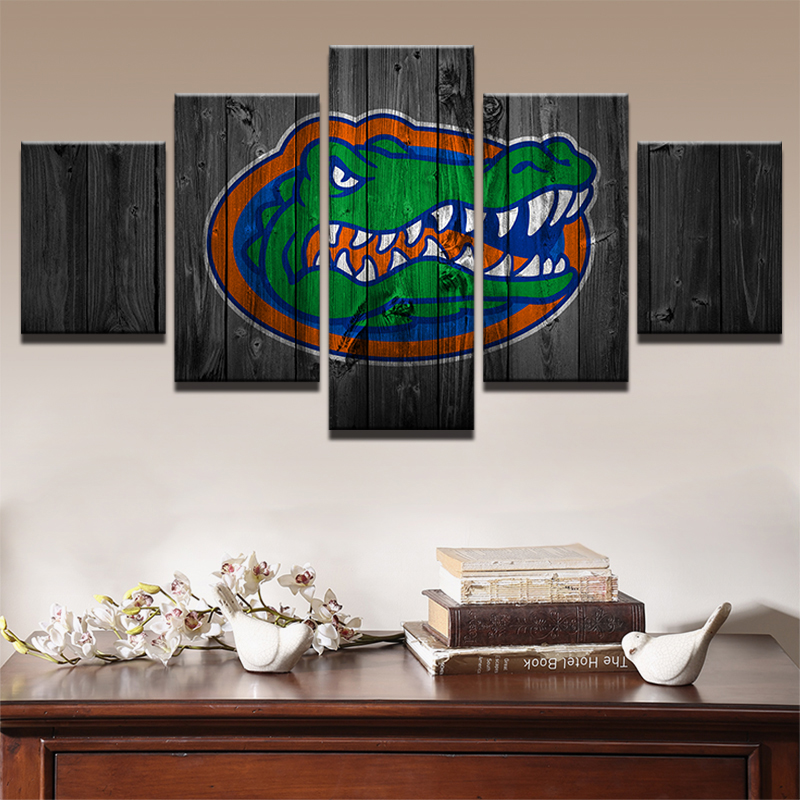 Modern Painting Canvas Basketball Wall Pictures Home Decor: Wall Art Frame Picture HD Print Rugby Football Canvas