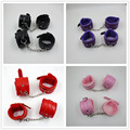 2 PCS/Lot Erotic Bondage Restraints Adult Sex Products Sexy Pu Leather  Hand Cuffs + Ankle Cuffs,Adult SexToys For Couples