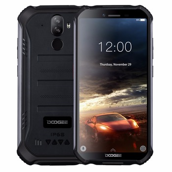 Перейти на Алиэкспресс и купить DOOGEE S40 мобильный телефон с 5,5-дюймовым дисплеем, четырёхъядерным процессором MT6739, ОЗУ 2 Гб, ПЗУ 16 ГБ, 8 Мп, IP68/IP69K, 4650 мАч