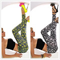 Sexy Fashion Vintage Style Women Leggings Geometric Symbols Printed Workout leggings Stretchy Slim Fitness Leggings for women