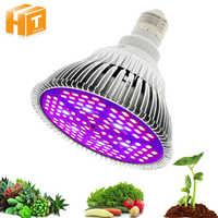 LED Grow Light Full Spectrum 6W 10W 30W 50W 80W Red Blue UV IR Led Growing Lamp For Hydroponics Flowers Plants Vegetables.