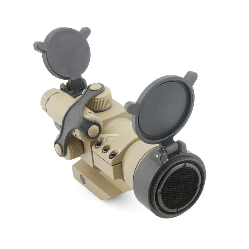 лучшая цена JJ Airsoft M2 Reddot with Cantilever Mount & Killflash / Kill Flash (Tan) FREE SHIPPING(ePacket/HongKong Post Air Mail)