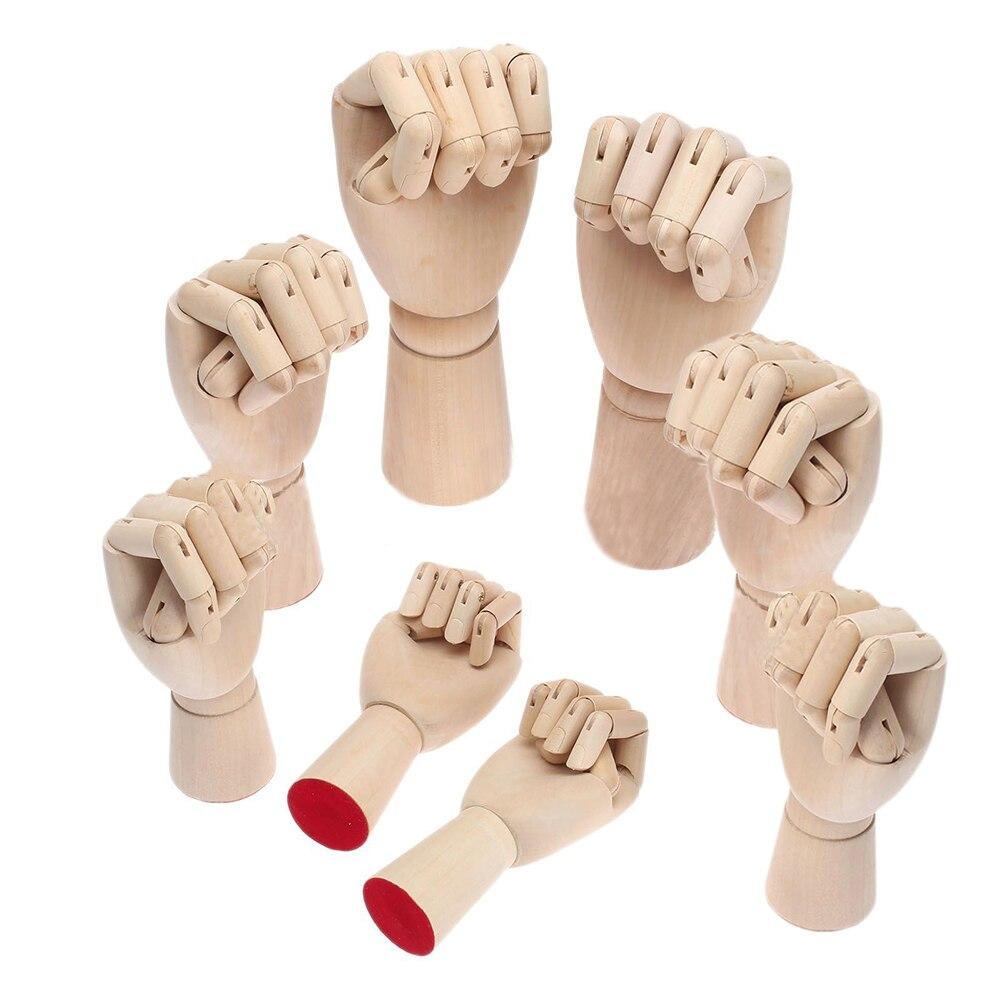 Wooden Hand Models 2