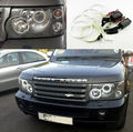 Para Land Rover RANGE Rover 2002-2009 Excelente kit Angel Eyes faros Ultrabright iluminación CCFL Angel Eyes kit
