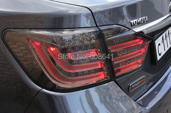 Camry 2012-13 godine Aurion LED stražnje svjetlo za BMW Style Smoke - Svjetla automobila - Foto 2