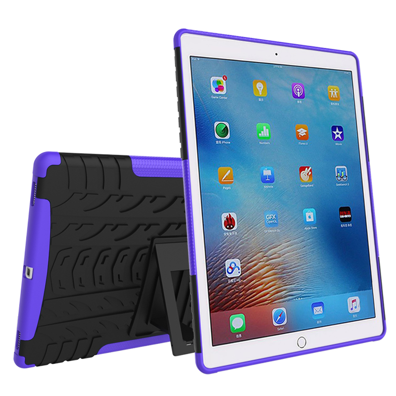 2 in 1 Durable ShockProof Hybrid Heavy Duty Stand Case Cover For Apple iPad Mini 1 2 3 4 Fashion phone bag 8 Colors Hot sale