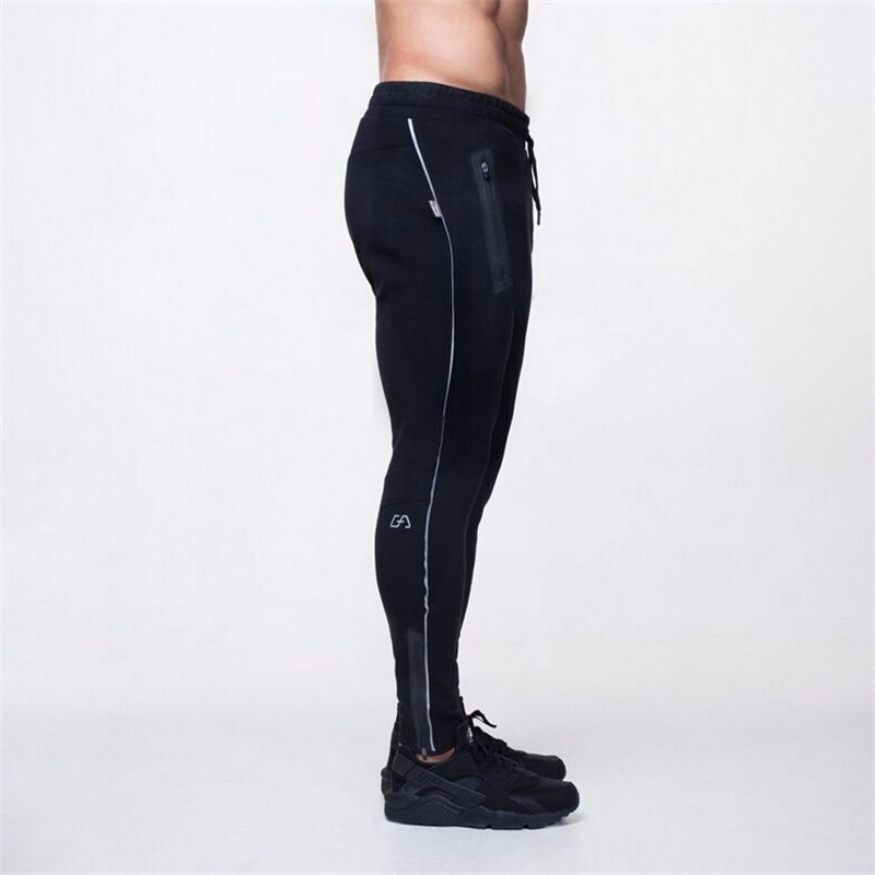 SJ 2017 High Quality Jogger Pants Men Fitness Bodybuilding Gyms Pants For Runners Brand Clothing Autumn Sweat Trousers Britches