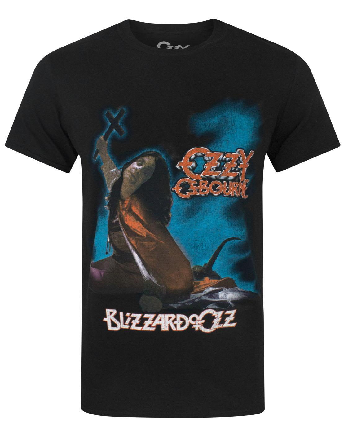 Ozzy Osbourne Blizzard Of Oz Mens T-Shirt