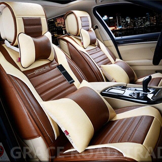Hoge Kwaliteit Danny Lederen Auto Bekleding Universele Autostoel ...