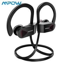 Mpow D8 HiFi стерео беспроводные наушники IPX7 водонепроницаемые спортивные наушники HD Sound 9H Playtime беспроводные металлические наушники-вкладыши с микрофоном