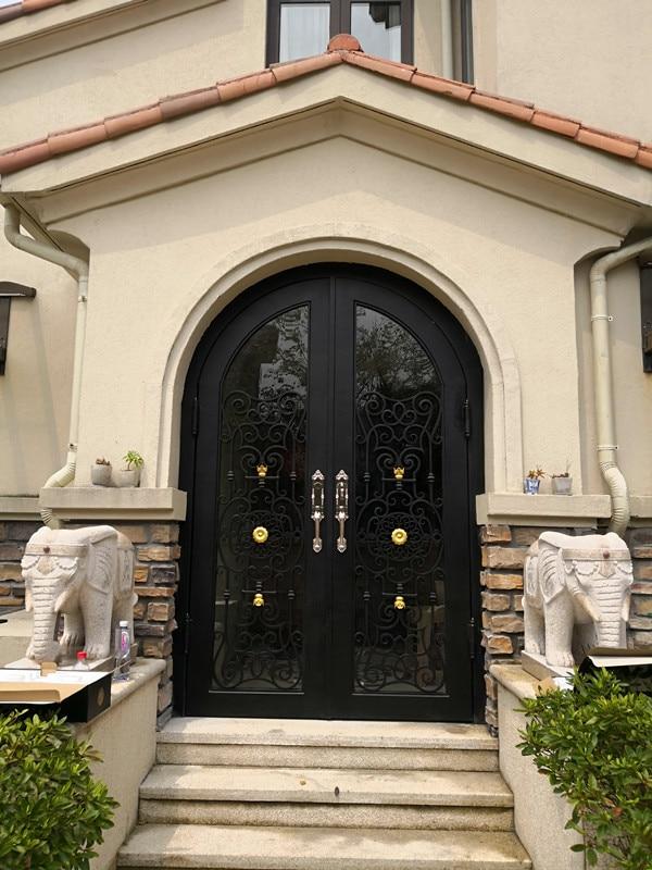 Florida Iron Doors Wrought Iron Front Entrance Doors