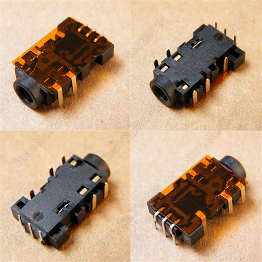 1pcs 3.5mm Audio Jack Port for Asus U31 U31F U31S U31J U31JC U31JG U31JF U31SD U31 Headphone Microphone Socket Connector