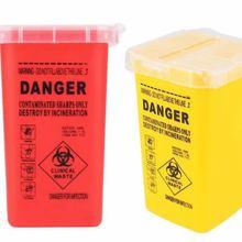 1Л острый контейнер для медицинских и одноразовых отходов иглы татуировки чашки