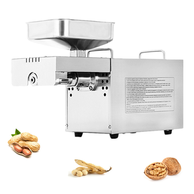 High Extraction Oil Presser Automatic Press Machine Peanut Small Soybean Almond Walnut Sunflower Seeds Oil Press Machine automatic small peanut oil press machine oil soybean presser 220v 200w stainless steel brand new for home use