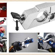 Мотоциклов ATV алюминиевый сплав Анти-кражи охранная замок ручной тормоз для HONDA CB919 CBR 600 F2 F3 F4 F4i CBR900RR NC700 S X