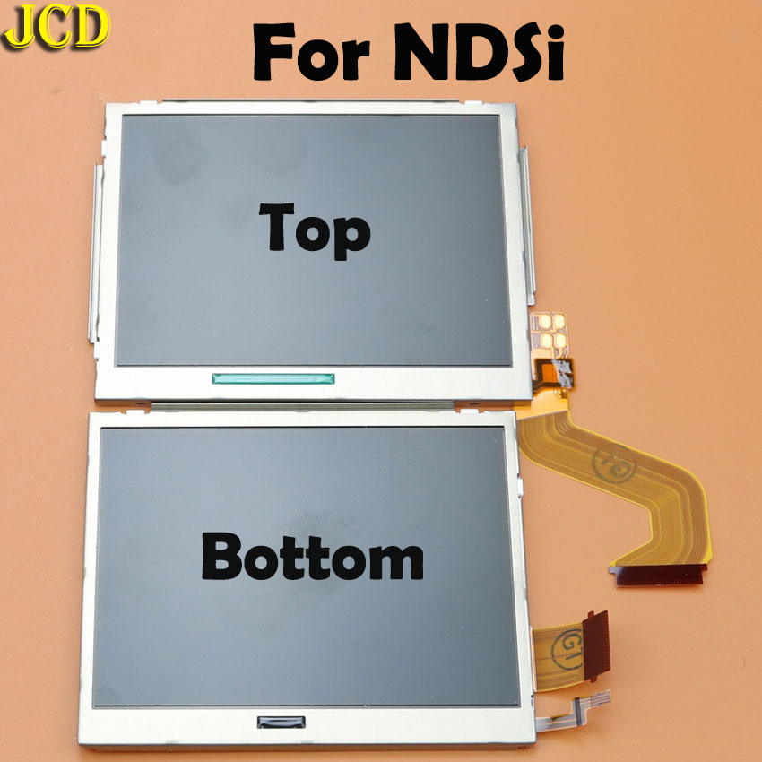 Image 4 - JCD 1pcs Top Bottom Upper Lower LCD Screen Display For Nintend DS Lite NDS NDSL NDSi for 3DS New 3DS LL XL for GBA SP-in Replacement Parts & Accessories from Consumer Electronics