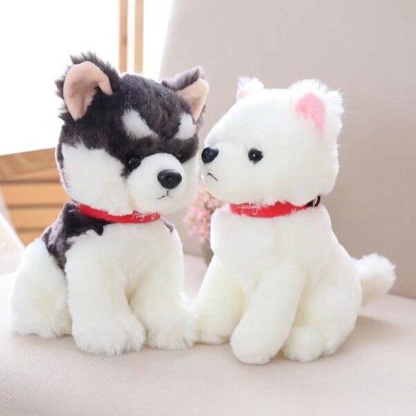 22cm Plush Toys Chow Chow Samoyeds Alaska Dog Doll Stuffed Animal