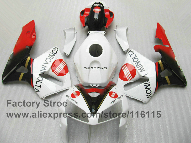ᗐ7 regalos 100% carenados de inyección para Honda 2005 2006 CBR ...