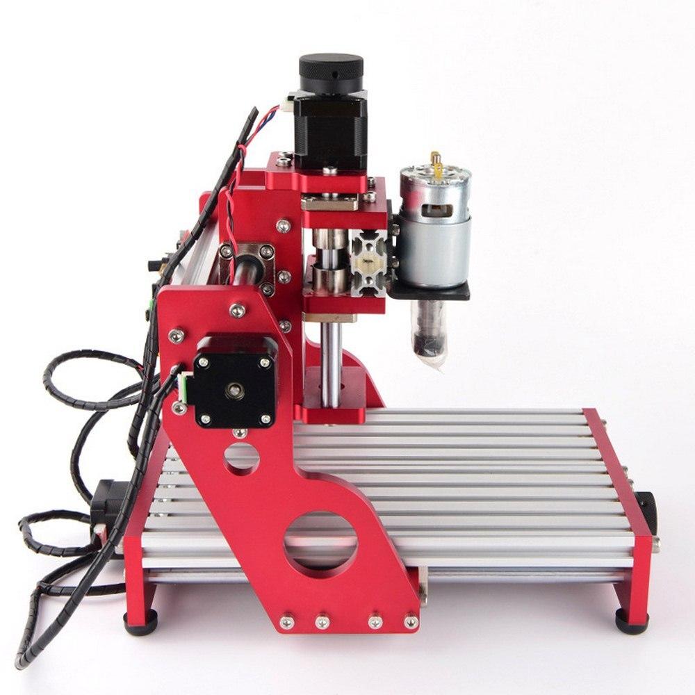 CNC 1419 en aluminium coupe pcb Machine de gravure petites Machines de CNC pour fer de bureau en métal cuivre bois Route outil de gravure
