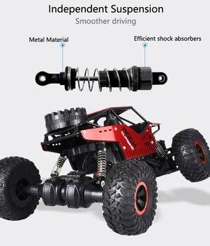 2.4 GHz 4WD Off-Road Climbing Crawler - C08S 2